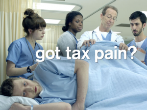 Tax pain- H&r Block commercial