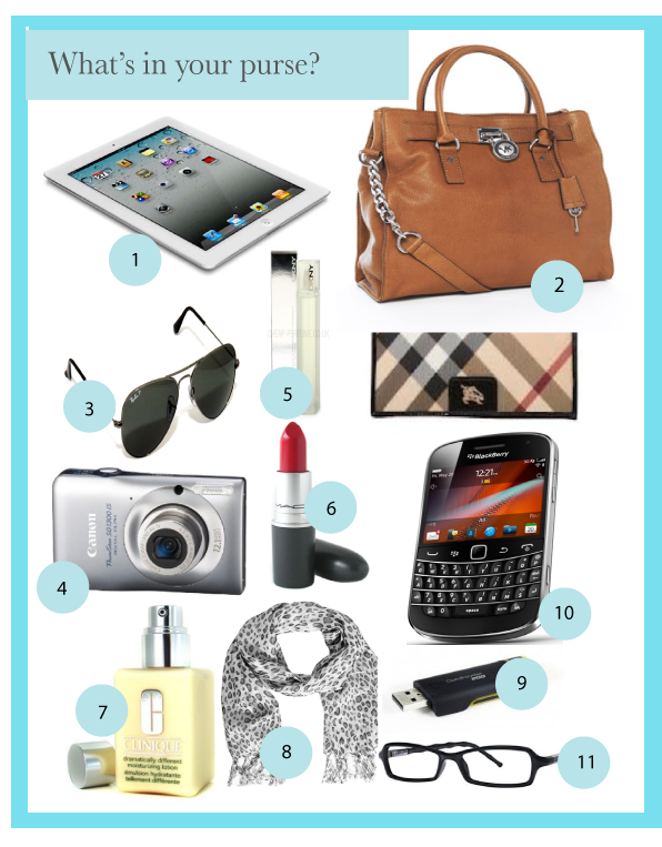 What Is In Your Purse Wallet