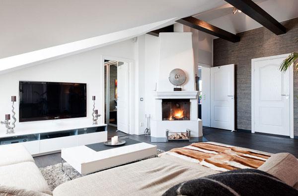 stylish_attic_bedroom